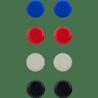 SPEEDLINK STIX Controller Cap Set Aufsätze, Blau/rot/weiß/schwarz