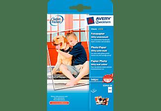 AVERY ZWECKFORM Classic Inkjet Fotopapier,10x15, einseitig beschichtet, 170 g/m², 50 Bogen(C2743-50)