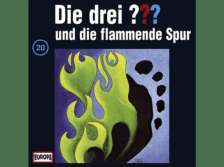 Die drei ??? 20: ...und die flammende Spur - (CD)
