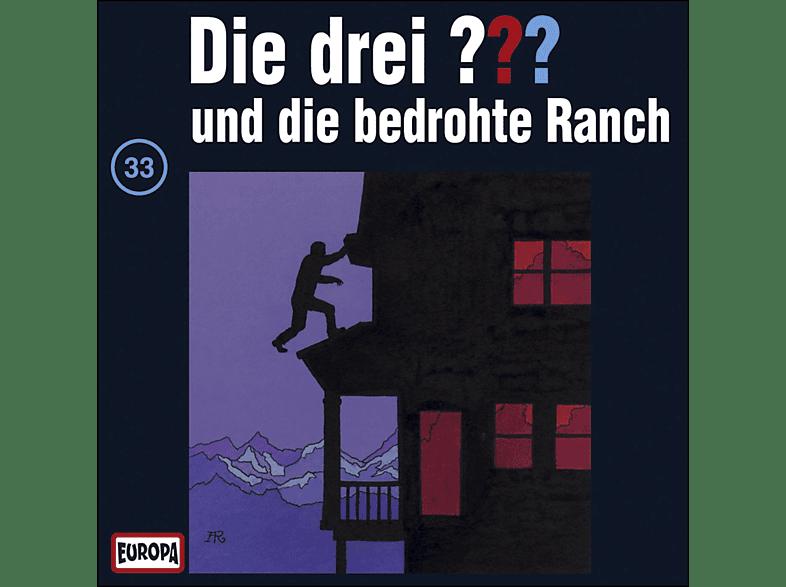 Die drei ??? 33: ...und die bedrohte Ranch - (CD)