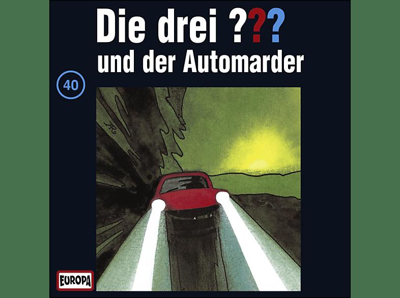 Die drei ??? 40: ...und der Automarder - (CD)