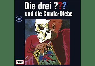 - Die drei ??? 49: ...und die Comic-Diebe  - (CD)
