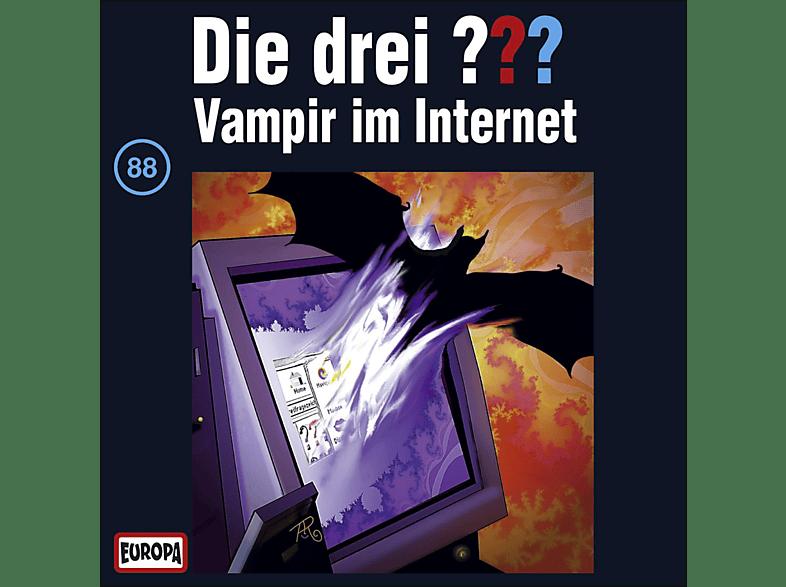 Die drei ??? 88: Vampir im Internet - (CD)