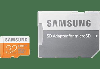 SAMSUNG MB-MP32DA, Micro-SDHC Speicherkarte, 32 GB, 48 MB/s