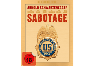 Sabotage (Exklusiv Media Markt Limited Uncut Edition SteelBook Gold) Blu-ray