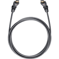 OEHLBACH 42468 Flex Magic-HS HDMI Kabel 3,2 m HDMI Kabel, Schwarz