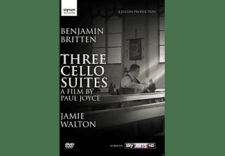 Jamie Walton - Three Suites For Cello  - (DVD)