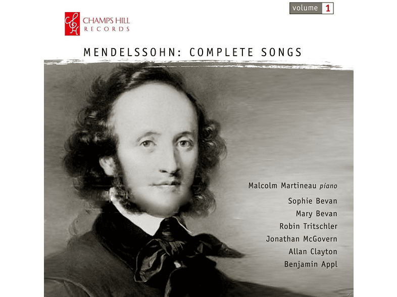 VARIOUS - Mendelssohn: Complete Songs [CD]