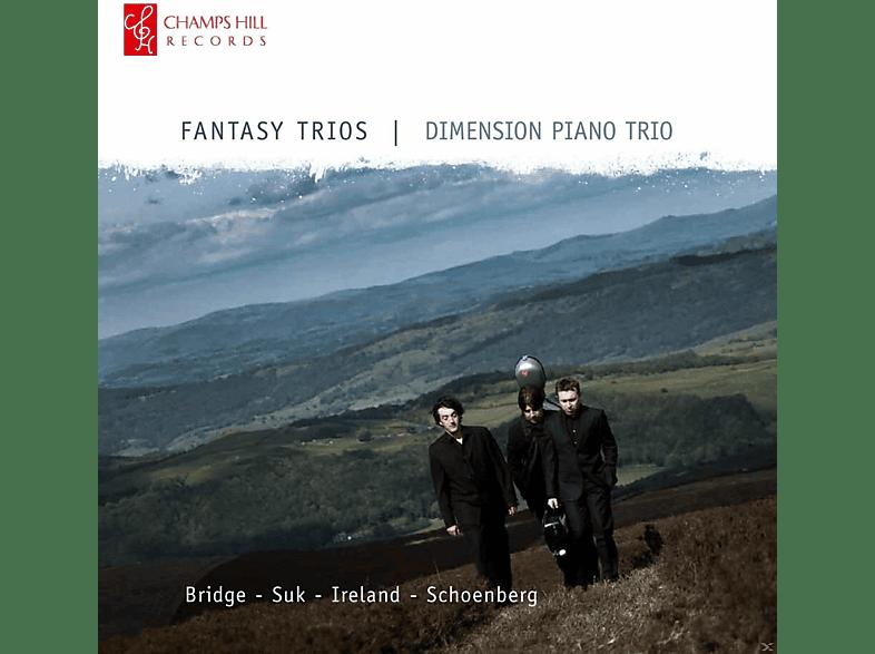 Various Composers, Dimension Piano Trio - Fantasy Trios [CD]