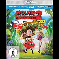 Wolkig mit Aussicht auf Fleischbällchen 2 (3D + 2D Version) [3D Blu-ray]