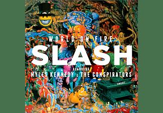 Slash - World On Fire [CD]