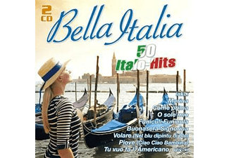 VARIOUS - Bella Italia-50 Italo-Hits  - (CD)