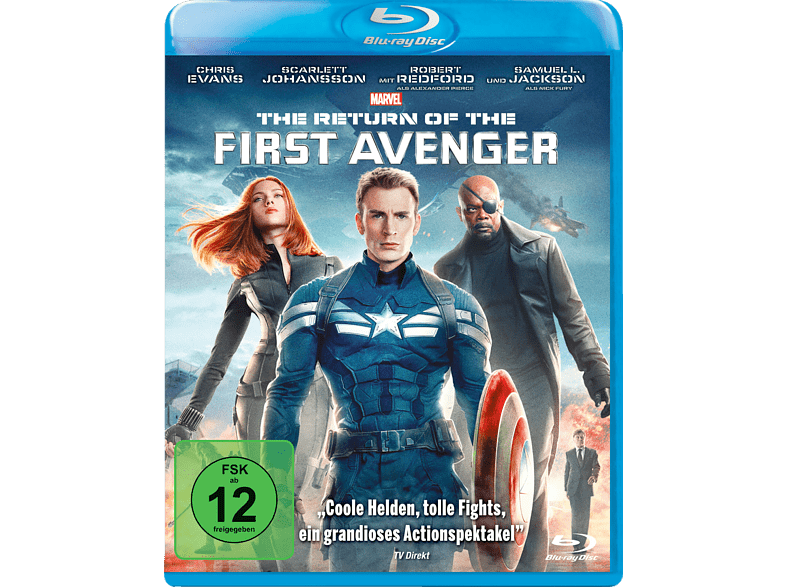 Captain America 2 - The Return of the First Avenger [Blu-ray]
