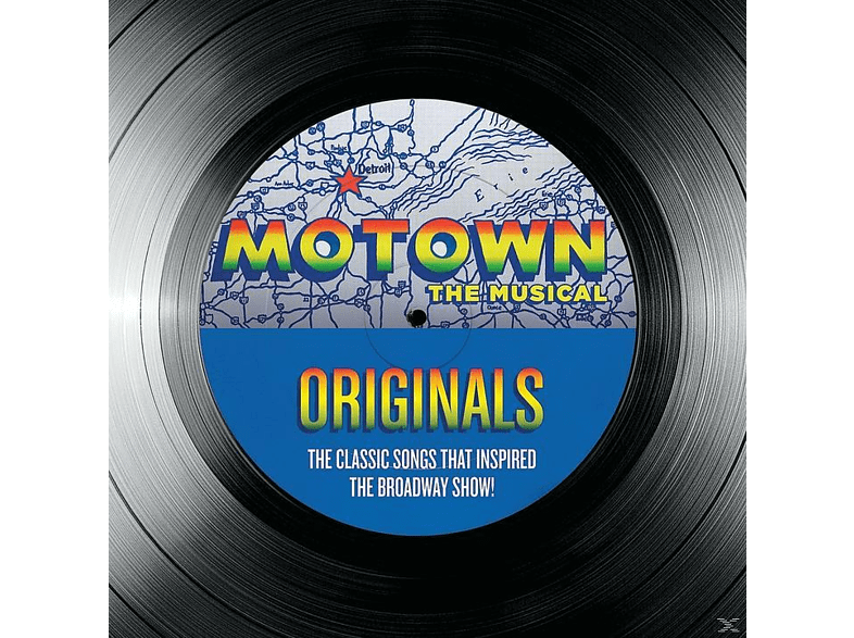 VARIOUS - Motown The Musical Originals - 40 Classic Songs That Inspired The Broadway Show! [CD]