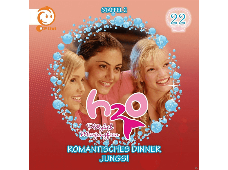 H2O plötzlich Meerjungfrau! 22: Romantisches Dinner / Jungs! - (CD)