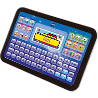 VTECH Preschool Colour Tablet Lerncomputer, Schwarz, Grau