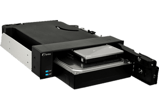FANTEC MR-2535DUAL Wechselrahmen schwarz