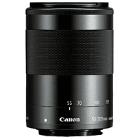 CANON EF-M Standardzoom für Canon, 55 mm - 200 mm, f/4.5-6.3