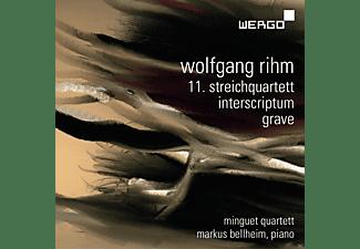 Minguet- Quartett, Markus Bellheim - 11.Streichquartett/Interscriptum/Grave  - (CD)