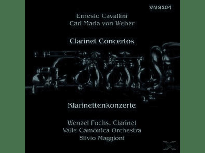 Robert Fuchs, S. Maggioni, Valle Camonica Orchestra, S./Fuchs/Valle Camonica Orchestra Maggioni - Klarinettenkonzerte [CD]