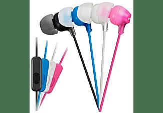 Auriculares botón - Sony MDR-EX15APB, Negro, iman de neodimio, Especial Android