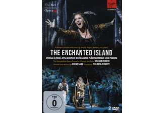 Plácido Domingo, Danielle De Niese, Luca Pisaroni, Metropolitan Opera Orchestra, David Daniels, Joyce Didonato - The Enchanted Island  - (DVD)