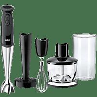 BRAUN MQ 5137 Multiquick 5 Vario Sauce+ Stabmixer Schwarz/Edelstahl (750 Watt)
