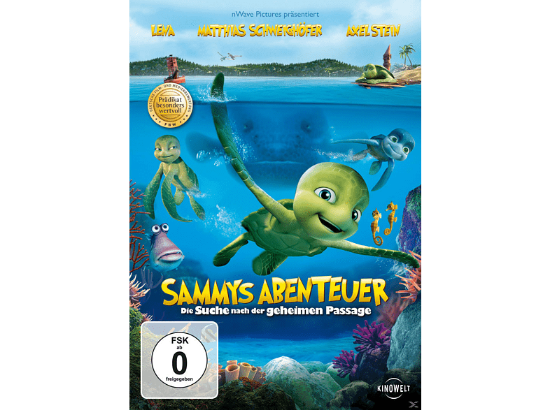 Sammys Abenteuer - Die Suche nach der geheimen Passage [DVD]