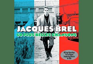 Jacques Brel - 60 Plus Belles Chansons  - (CD)