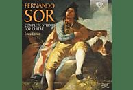 Enea Leone - Sor: Complete Studies For Guitar [CD]