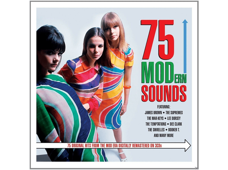 VARIOUS - 75 Mod-Ern Sound [CD]