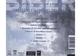 Combattimento Consort Amsterdam - Soldiers,Gypsies,Farmers And A Ni  - (SACD Hybrid)