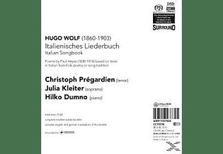 PREGARDIEN,CHRISTOPH/KLEITER,JULIA/DUMNO,HILKO, Pregardien,Christoph/Kleiter,Julia - Italienisches Liederbuch  - (SACD Hybrid)
