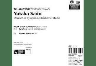 Deutsches Sinfonieorchester Berlin - Sinfonie 5/Slavonic March  - (SACD Hybrid)