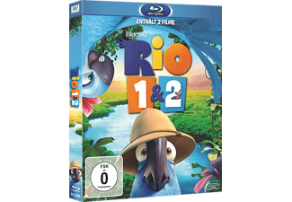 Rio 1 & 2 [Blu-ray]