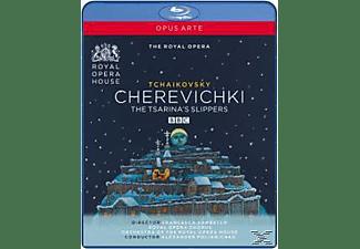DIADKOVA/MIKHAILOV/VASSILIEV/ROYAL, Polianichko/Royal Opera - Cherevichki-Tsarina's Slippers  - (Blu-ray)