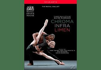 The Royal Opera House Ballet - Chroma/Infra/Limen  - (DVD)