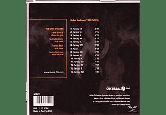 Borstlap, Liedmeier, Baet', Neeleman, Borstlap/Liedmeier/Baet'/Neeleman - The Spirit of Gambo-Consort Music of Four Parts  - (CD)