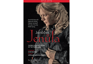 Chorus And Orchestra Of The Teatro Real - Jenufa  - (DVD)