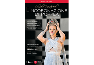 Miah Persson, Sarah Connolly, Jordi Domènech, Baroque Orchestra Of The Gran Teatre Del Liceu, Bicket/Persson/Connolly/Domenech - Krönung Der Poppea  - (DVD)