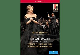 Renée Fleming, Wiener Philharmoniker - Lieder / Eine Alpensinfonie  - (DVD)