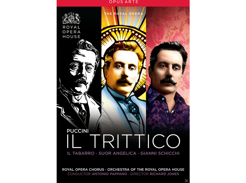 VARIOUS, Orchestra Of The Royal Opera House, Royal Opera Chorus - Il Trittico [DVD]