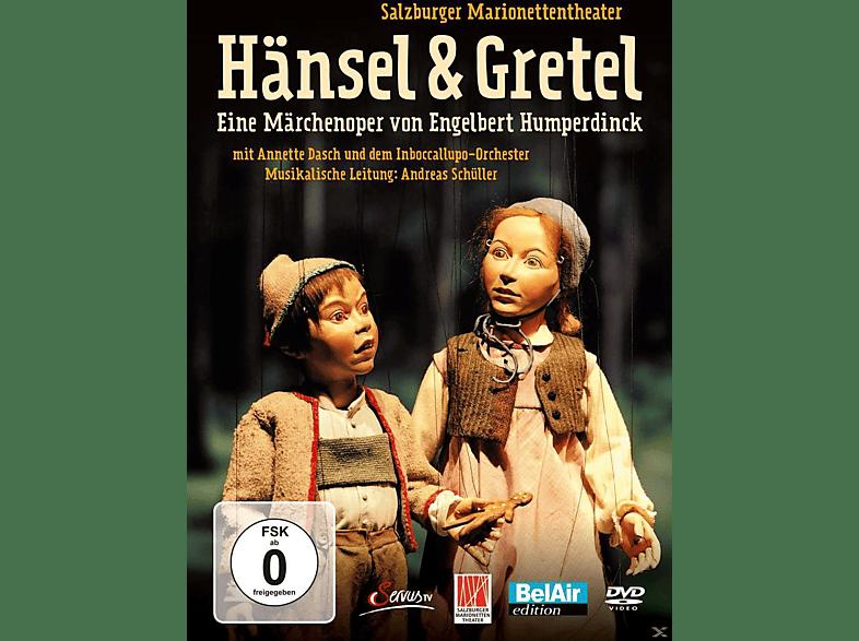 Salzburger marionettentheater, dasch, inboccallupo - Hänsel & Gretel - Eine Märchenoper von Engelbert Humperdinck [DVD]