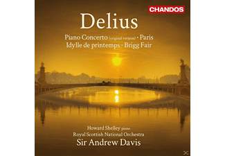 Royal Scottish National Orchestra, Andrew Davis - Piano Concerto - (CD)