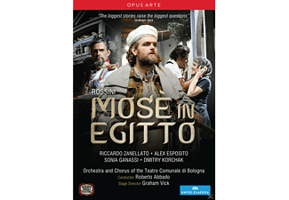 Olga Senderskaya, Alex Esposito, Riccardo Zanellato - Mosè In Egitto  - (DVD)