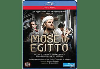 Esposito/Ganassi, R./Zanellato/Esposito Abbado - Mosè In Egitto  - (Blu-ray)