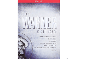 Diverse - The Wagner Edition (25 Discs)  - (DVD)