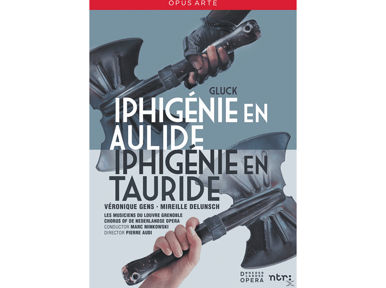 VARIOUS, Les Musiciens Du Louvre Grenoble, Chorus of De Nederlandse Opera - Iphigenie En Aulide & Iphigenie En Tauride [DVD]