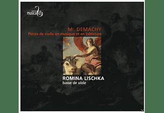 Romina Lischka - Pièces De Violle En Musique Et En Tablature,Paris  - (CD)