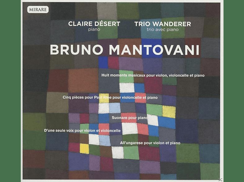Claire Desert, Trio Wanderer - Piano/ Trio Avec Piano [CD]